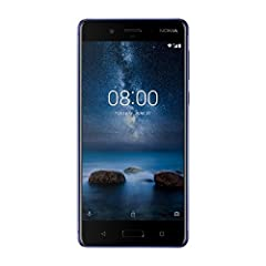 Idea Regalo - Nokia 8 Smartphone da 128 GB di Memoria, 5,3