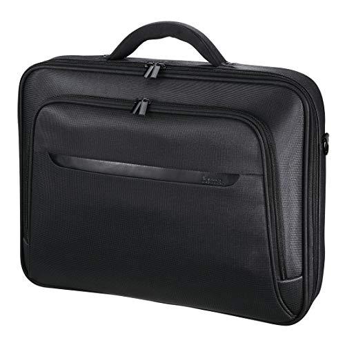 Hama Notebooktasche (Miami Life, für Laptop, Tablet mit Bildschirmdiagonale 15,6 Zoll / 40 cm, Laptoptasche) schwarz