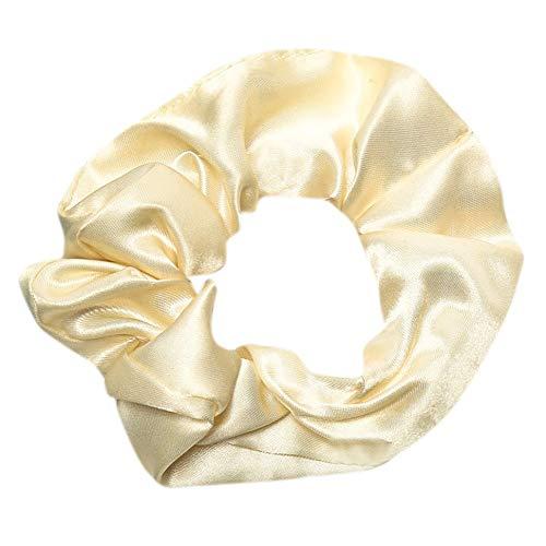 Frauen Seide Haargummis Blumen Elastisches Haar Seil Ring Krawatte Scrunchie Pferdeschwanz Inhaber Haarband Stirnband Haarbänder Gummiband Schwarz Haarschmuck Haar Accessoires Headwear (Muster Islamische Nähen)