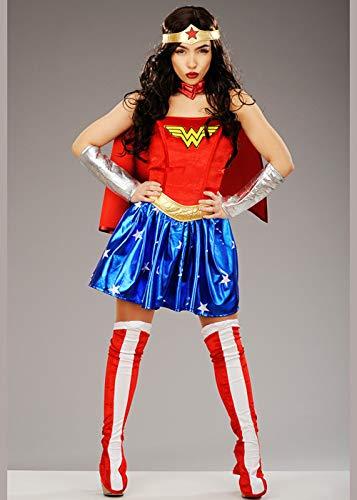 Magic Box Int. Erwachsene Größe Superheld Wonder Woman Costume XS (UK ()