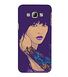 Fuson Designer Back Case Cover for Samsung Galaxy A8 (2015) :: Samsung Galaxy A8 Duos (2015) :: Samsung Galaxy A8 A800F A800Y (A tattoo on the hand theme)