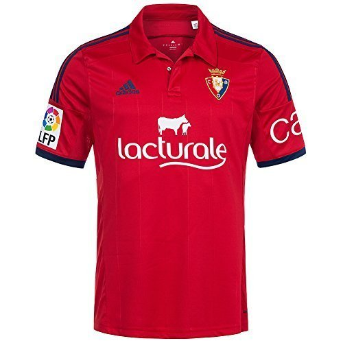 2014-2015 Osasuna Adidas Home Football Shirt