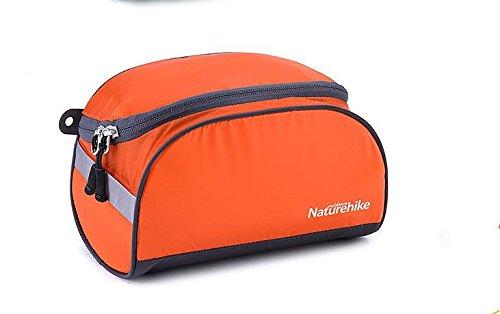 NatureHike Sacchetto di immagazzinaggio impermeabile della borsa cosmetica dell'estratto del sacchetto di lavaggio all'estero (Golden) Golden