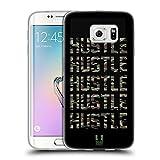 Head Case Designs Hustle Fitness Typographie Soft Gel Hülle für Samsung Galaxy S6 Edge