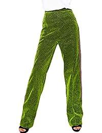 Primavera Otoño Elegantes Moda Mujer Pantalones Baggy Rayas Verticales  Casuales Mujeres Cintura Alta Elastische Taille Largos Pantalones De… 165599bd9109