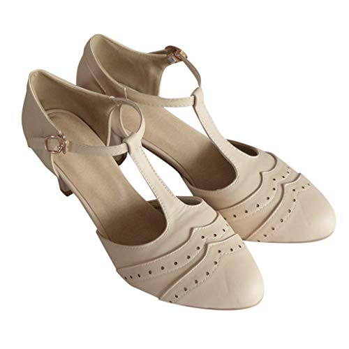 Keilabsatz Schuhe Damen Sommer Sandalen Mode Wedge Schuhe Römische Runde Zehe Sandaletten Schnalle Strap Sandalen High Heels Schuhe ABsoar -