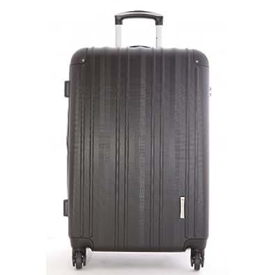 snowball valise cabine trolley 50cm noir chaussures et sacs. Black Bedroom Furniture Sets. Home Design Ideas
