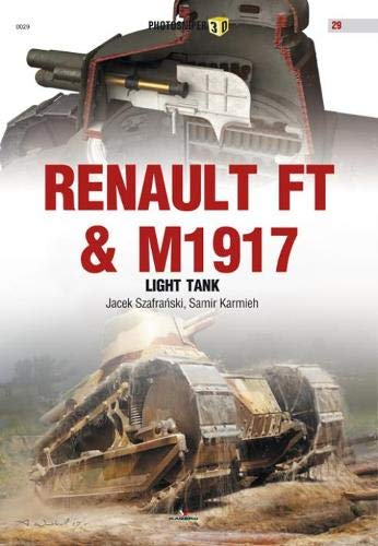 Renault FT & M1917 Light Tank (Photosniper 3D) por Jacek Szafranski