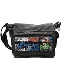 a3237fccaa DC Comics Borsa Tracolla Justice League grande formato