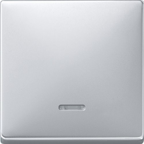 Merten 438060 Aluminio interruptor de luz - Interruptores de luz (Botones, Aluminio,...