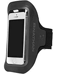 Nathan Supersonic 3 – ALLE iPhones, Schwarz/Sulphur Spring, One Size