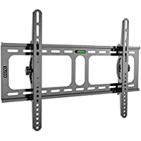 Eono Essentials - Soporte de pared inclinable para televisión de 32-70 pulgadas - Capacidad de carga de 45 kg, VESA 600 x 400 mm