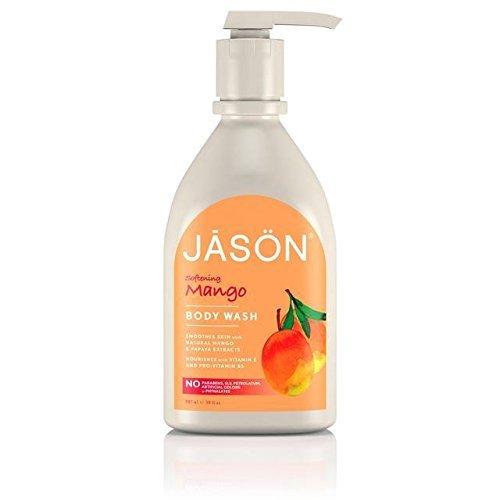 Mango & Papaya Satin Body Wash With Pump - 900ml - Jason Natural Mango Satin Body Wash