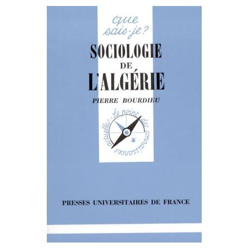 Sociologie de l'Algérie