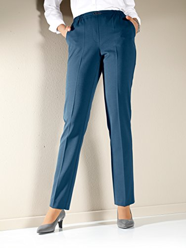 Damen Hose in bequemer Schlupfform by m. collection Petrol
