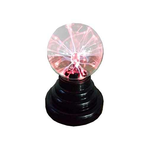 Lorsoul 3-Zoll-Magie USB Plasma-Kugel-Bereich Licht Magie-Plasma-Kugel-Kristall Licht Transparante Lampe