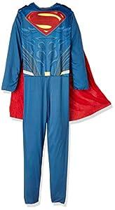 DC Comics - Disfraz de SupermanJustice League para niño, infantil 7-8 años (Rubie