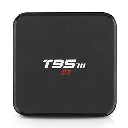 T95M Android 5.1 Smart TV Box Media Player mit LED Display Quad Core S905 RAM 1GB ROM 8G 4K x 2K KODI (XBMC) 3D Dolby WIFI Fully Loaded