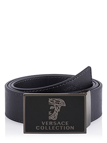 Versace Collection Gürtel (M-378-Gu-47554) - 110(DE) / 110(IT) / 110(EU) - schwarz