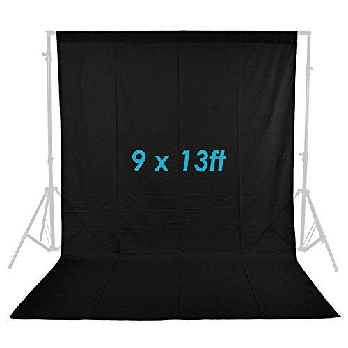 Neewer 9x 13ft/2,8x 4m Foto Studio 100% Pure Musselin klappbar Hintergrund Hintergrund für Fotografie, Video und Fernsehen (nur...