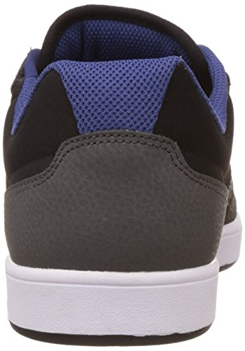 DC Herren Argosy Low-Top Grau (Grey/Black/Blue - Xskb)