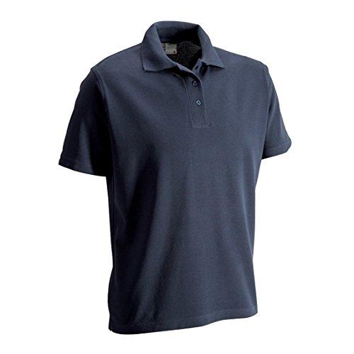 "Promodoro 4001F-54-L Arbeits Poloshirt""Superior"", Marineblau, L"