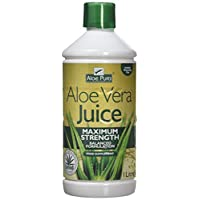 Aloe Pura Aloe Vera Juice Max Strength, 1L 1
