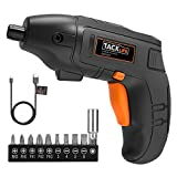 Best Electric Screwdrivers - Tacklife 5.0 N.m Electric Cordless Screwdriver, 3.6V 1500 Review
