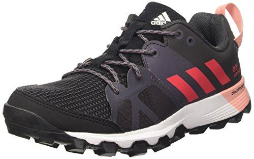 Adidas Kanadia 8 Tr W, Zapatos para Correr para Mujer, Rojo (Negbas/Rosbas/Gritra), 38 EU