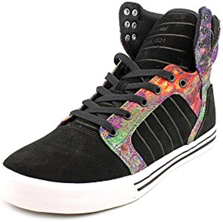 Supra - Zapatillas de skateboarding para hombre Black/Aurora/White  -