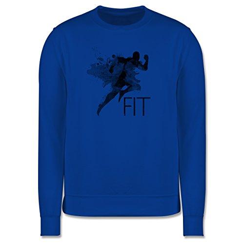 CrossFit & Workout - Fit - Splash - Herren Premium Pullover Royalblau