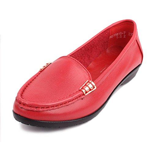 Chaussures de femmes d'âge moyen/Au milieu en bas doux et souliers pour dames âgées vieux/Chaussures de maman/Chaussures femme/Chaussures de travail A