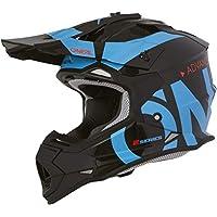 Oneal 2SRS RL Helmet Slick Black/Blue L (59/60cm) Casco, Adultos Unisex
