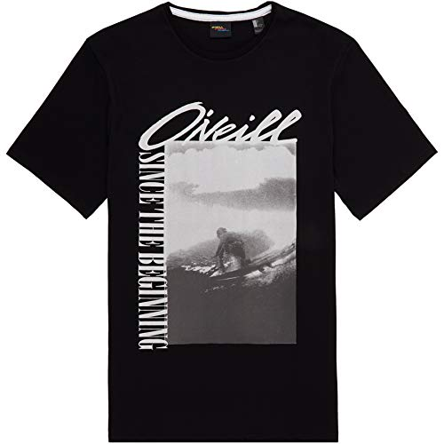67ffd833f743 O'Neill LM Frame Camiseta Manga Corta, Hombre, Black Out, L