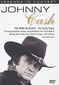 Johnny Cash - Legends In Concert: The Man In His Early Years