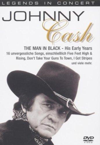 Preisvergleich Produktbild Johnny Cash - Legends In Concert: The Man In His Early Years