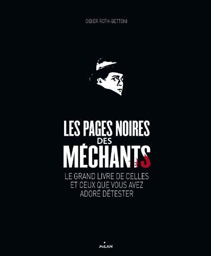 Les pages noires des mechants