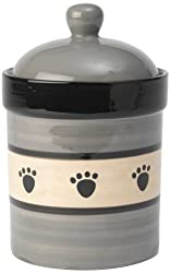 PetRageous Metro Treat Jar for Pets, 9-Inch