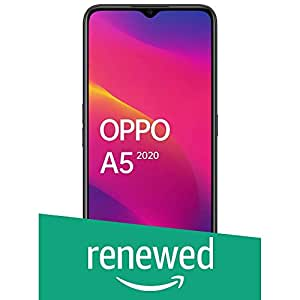 (Renewed) OPPO A5 2020 (Mirror Black, 3GB RAM, 64GB Storage) with No Cost EMI/Additional Exchange Offers