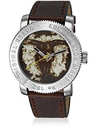 EDC Herren-Armbanduhr Analog Quarz Leder EE100531002