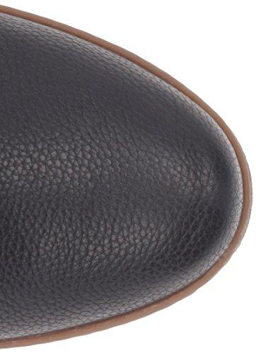 El Naturalista Nf75 Soft Grain-Lux Suede Black/Lichen, Bottes Cavalières Femme Noir (Black N01)