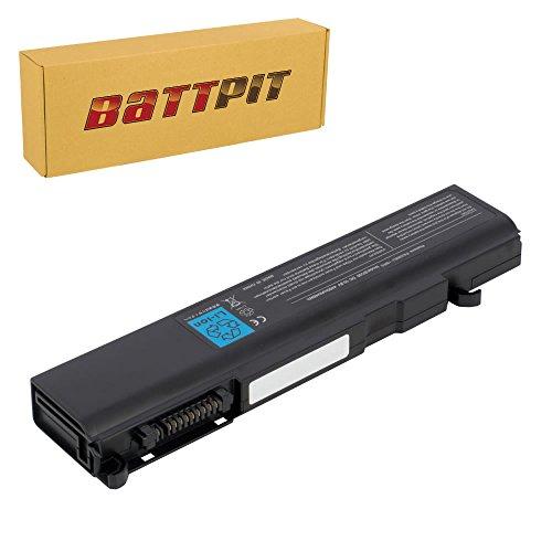 Pa3588u 1brs Laptop (Battpit Laptop Akku für Toshiba PA3356U-3BRS PA3588U-1BRS PA3356U-1BRS PA3456U-1BRS Tecra A9 A10 M10 P10 S5 Satellite Pro S300 U200 - [6 Zellen/4400mAh/48Wh])