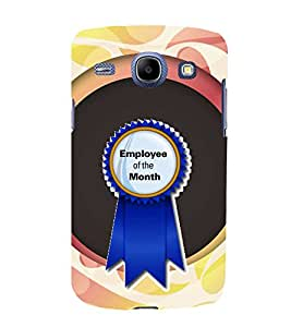 Fiobs Designer Back Case Cover for Samsung Galaxy Core I8260 :: Samsung Galaxy Core Duos I8262 (Employ Of The Month Salary )