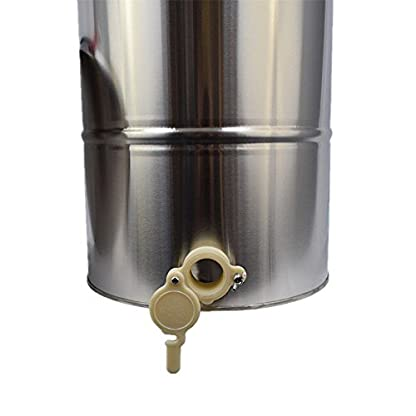 TTLIFE 2 frame Stainless Steel Radial Honey Extractor for Keeping Bee filters dispenser press machine 5