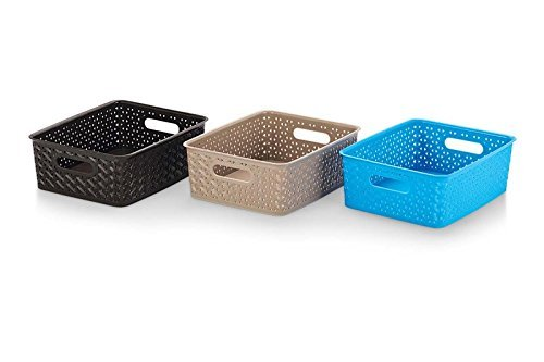 Rpa Basket Small Multi Color (Pack of 3)