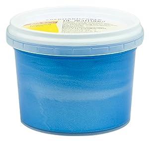 Eberhard Faber 578892 - Pintura de Dedos en Botes de Pintura, 100 ml, Perla / Azul