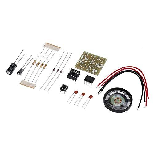 Suite Campanello Kit per La Produzione Elettronica Campanello Kit Fai da Te Ne555 Facile da Installare Ideale per La Sicurezza della Tua Casa