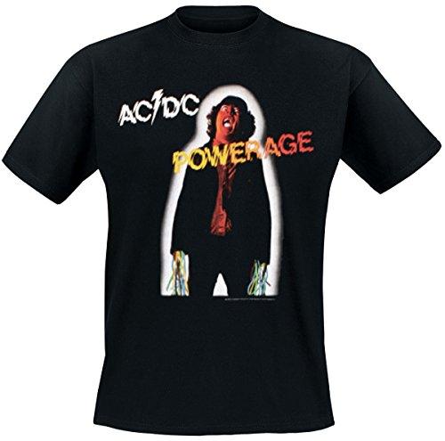 AC/DC - Powerage T-Shirt Schwarz