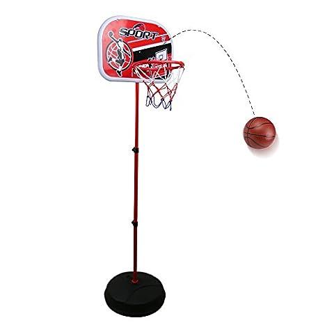 Panier Basket Exterieur - Panier de Basket Hauteur Réglable Intérieure et