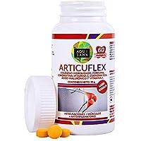 Comprimidos masticables de colágeno con ácido hialurónico, cúrcuma y condroitina para articulaciones y huesos.